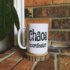 Chaos coordinator mug, Gift for her, Gift for him, Boss gift, Teacher gift, Funny Coffee Mug