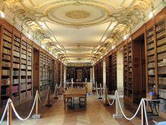 La Bibliothèque bénédictine de Saint-Mihiel, dans la Meuse (Crédits photo : Ville de Saint-Mihiel)