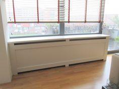 Radiatorschermen » Dicht paneel Radiator Cover, Bedroom Wall, Windows, Living Room, Interior Design, Storage, Extra Groot, Inspiration, Furniture