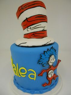 Dr. Seuss Cake (1217) | Flickr - Photo Sharing!
