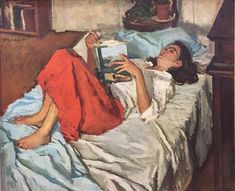 Jerry Weiss, Susan (Summer Reading), 1986. Oil on canvas, 30 x 36 in.