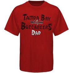 Tampa Bay Buccaneers Dad T-Shirt