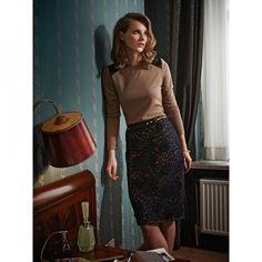 Jupe n°127 de Burda Style Septembre 2012