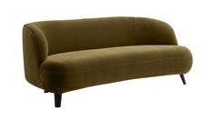 Canapé Rosebury velours design E. Gallina - AMPM La Redoute Alex Hotel, Hotel Boutique, Turbulence Deco, Sofa, Couch, Lounge, Interior, Design, Interieur