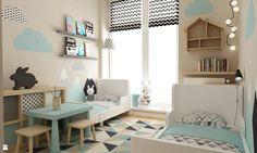 Pokój dziecka styl Skandynawski - zdjęcie od Grafika i Projekt architektura wnętrz - Pokój dziecka - Styl Skandynawski - Grafika i Projekt  architektura wnętrz