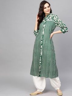 Best 11 810 Fabric : Variable (Check Product For Details) Sleeves : Sleeves are included Bust : S in 810 Fabric : Variable (Check Product For Details) Sleeves : Sleeves are included Bust : S in M 36 in L 38 in XL 40 in 42 in Length : Up Simple Kurti Designs, Stylish Dress Designs, Salwar Designs, Kurta Designs Women, Kurti Designs Party Wear, Sleeves Designs For Dresses, Dress Neck Designs, Sleeve Dresses, Blouse Designs