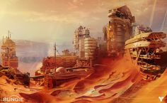 The Beautiful Concept Art Behind Destiny