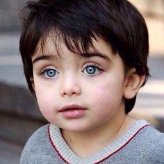 New Ideas Beautiful Children Faces Blue Eyes Cute Baby Boy, Cute Little Baby, Cute Babies, Beautiful Blue Eyes, Pretty Eyes, Cool Eyes, Precious Children, Beautiful Children, Beautiful Babies