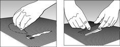 To repair a small hole in a window screen, cover it with a few layers of clear nail polish. It will keep the hole from becoming bigger and prevent insects from coming through.