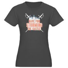 Princess Bride Storming the Castle Women's Tee> Princess Bride Storming the Castle> Princess Bride T-Shirts from Gold Label