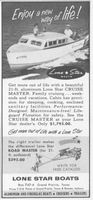 Lone Star Cruise Master 1956 Ad Picture