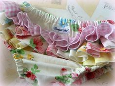 Ruffled Nappy Cover by Georgie Girl