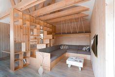 Ancr.es — (via ruetemple transforms garage in moscow into a...