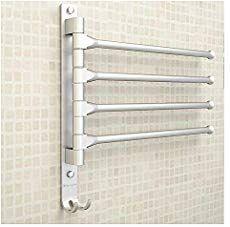 Tabaling Porte Serviettes Mural En Espace Aluminium Avec 4 Barres