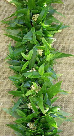 Hawaiian Leis, Hawaiian Flowers, Haku, Polynesian Islands, Herbs, Mom, Sewing, Places, Nature