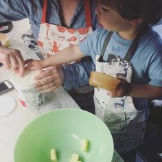 Making eggless muffins this past weekend with @gspansolutions #greenspawn