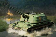 57-мм зенитная самоходная установка ЗСУ-57-2 ВНА