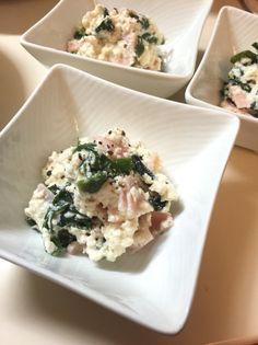 水切り無し!木綿豆腐とワカメのサラダ♪ by kurukurumin [クックパッド] 簡単おいしいみんなのレシピが230万品