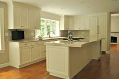 Custom Kitchen Remodel In Sudbury, MA Featuring Brookhaven Maple Cabinets  And Quartz Countertops. Design And Installation By Kitchen Associates Of  Sterling, ...