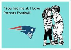 I love Patriots football