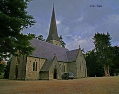 Where things finally shift for James:  St Patrick's Church, Powerscourt, Enniskerry, County Wicklow (1863) by colin.boyle4, via Flickr