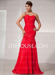 Prom Dresses - $156.99 - A-Line/Princess Sweetheart Floor-Length Taffeta Prom Dresses With Ruffle Beading (018014477) http://jjshouse.com/A-Line-Princess-Sweetheart-Floor-Length-Taffeta-Prom-Dresses-With-Ruffle-Beading-018014477-g14477
