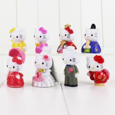 Hello Kitty Figures 5cm 8pcs //Price: $14.99 & FREE Shipping // World of Hello Kitty http://worldofhellokitty.com/8pcs-kitty-hellokitty-figures-hello-kitty-with-kimono-wedding-dress-pvc-action-figure-toys-kt-cat-great-gift/    #childrensworld