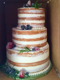 Mums The Word Naked Cake The Beautiful Full Cake Features An