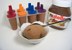 fitgurls-doitbetter:    Here is an awesome recipe I found for Nutella Ice Cream!