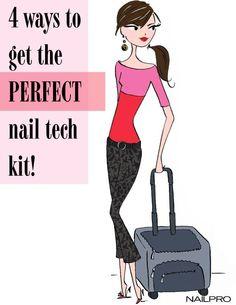 The perfect nail tech kit.