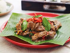 Beef with Red Chili Paste: This Beef and Red Chili Paste is from my friend Katie Chin's new cookbook, Every Thai Cooking: Quick and Easy Family Style Recipes from Tuttle Publishing.