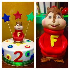 My Chipmunk cake :) Torta Alvin superstar :) www.facebook.com/archicaketure
