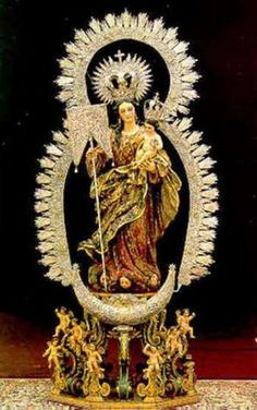 Virgen de la Aurora Patrona de Montilla. Córdoba::::::::RAFAES