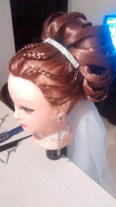 Peinado de novia Academia Cristián Delgado