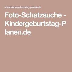 Foto-Schatzsuche - Kindergeburtstag-Planen.de
