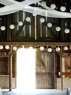 Barn Wedding Reception....I think my next wedding will be in a barn....I can find a barn, anybody got any groom choices?