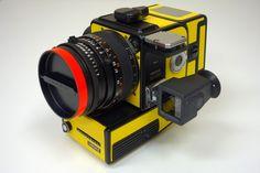 Awesome Yellow NASA 'Blad. Via Japan Camera Hunter.
