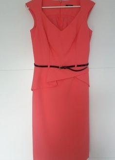 Kup mój przedmiot na #vintedpl http://www.vinted.pl/damska-odziez/krotkie-sukienki/18093202-jak-nowa-piekna-koralowa-sukienka-orsay-rozm34