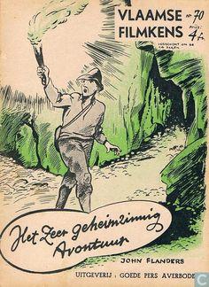 Boeken - Vlaamse Filmkens - Het zeer geheimzinnig avontuur