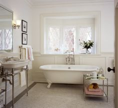 The perfect claw-foot tub
