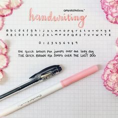 Amazing handwriting styles you can get inspiration from Amazing Handwriting, Handwriting Examples, Perfect Handwriting, Improve Handwriting, Handwriting Alphabet, Handwriting Styles, Hand Lettering Alphabet, Abc Alphabet, Handwriting Practice