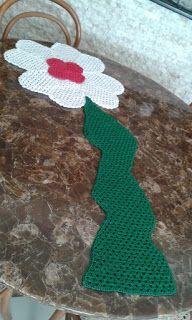 Arte em Crochet: Centro de mesa da boa sorte em crochet