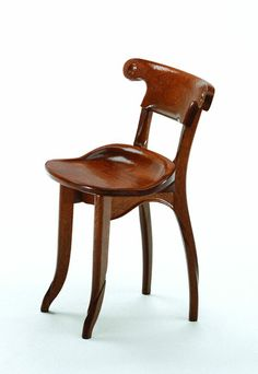 Modernist Batllo House chair (Art Nouveau in Spain) // Antonio Gaudi