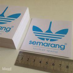 SEMARANG FOOTBALL SPEZIAL | Type : Sticker | Media : Vinyl/Decal | Dimension : 8,5x8,5cm  #screenprinted by © 2016 @bleedsyndicate   Thanks for ordered! For more info/order, call/sms 083842698615 - 081542347543  #sticker #stickervynil #vinyl #decal #vinyldecal #screenprint #screenprinting #screenprinter #sablon #cetaksaring #merchandise #merch #semarang #infosemarang #bleedsyndicate #2016 #bleedsyndicate2016