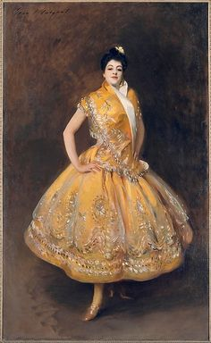 La Carmencita Artist: John Singer Sargent (American, Florence 1856–1925 London) Date: ca. 1890 Culture: American Medium: Oil on canvas