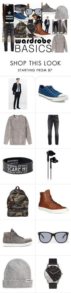 """Untitled #121"" by one-direction-666 ❤ liked on Polyvore featuring Express, Converse, Gant Rugger, Nudie Jeans Co., Under Armour, Yves Saint Laurent, Polo Ralph Lauren, Bally, Neff and Givenchy"