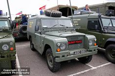 """""""Royal Military Police"""" Land Rover"""