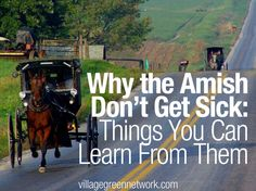 Why the Amish Don't Get Sick: Things You Can Learn From Them - See more at: http://villagegreennetwork.com/amish-dont-get-sick-things-can-learn/#sthash.ayMXFA7V.dpuf