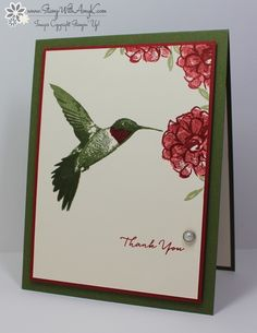Stampin' Up! Picture Perfect for The Paper Players | Stamp With Amy K