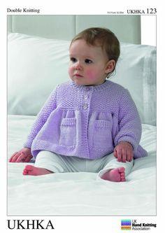 Para hacer punto patrón bebé niño chaqueta y manta por Bobbinswool